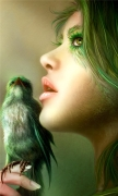 Fantasy Girl Bird