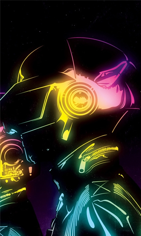 Daft Punk Windows Phone Wallpaper