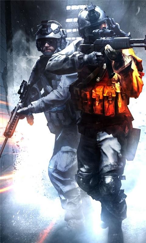 Battlefield 17 Windows Phone Wallpaper