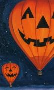 Pumpkin lights Hot air balloon