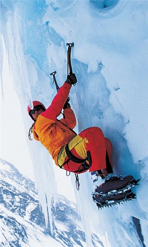 Rock Climbing Windows Phone Wallpaper