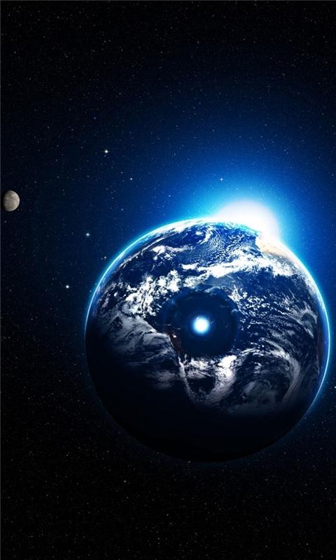 Artistic Earth Windows Phone Wallpaper