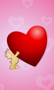 Big Red Heart For You