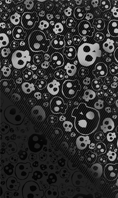 Skull textures background Windows Phone Wallpaper