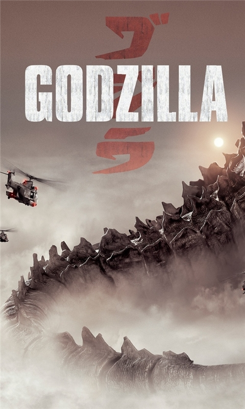 Godzilla 2014 Windows Phone Wallpaper
