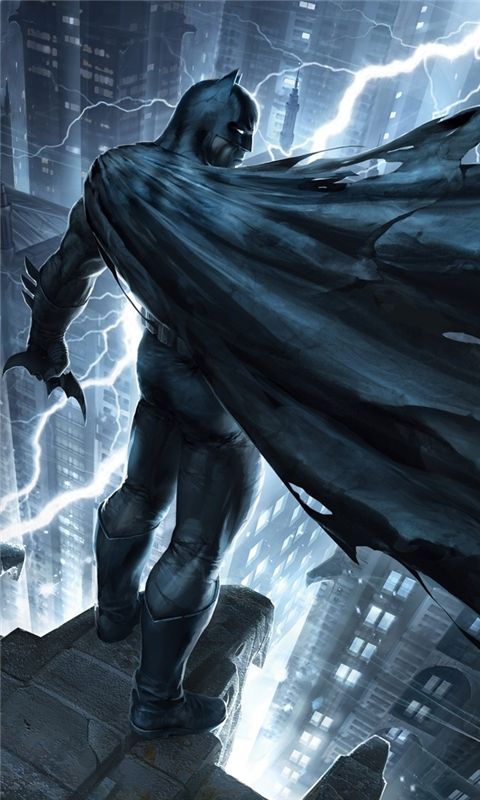 Batman The Dark Knight Returns Part 1 Windows Phone Wallpaper