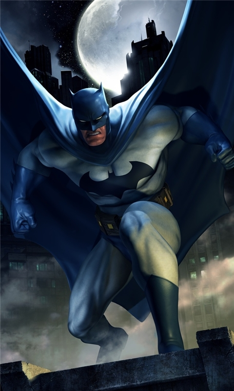 DC Universe Online Batman Windows Phone Wallpaper