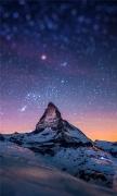 Cervino Night Sky