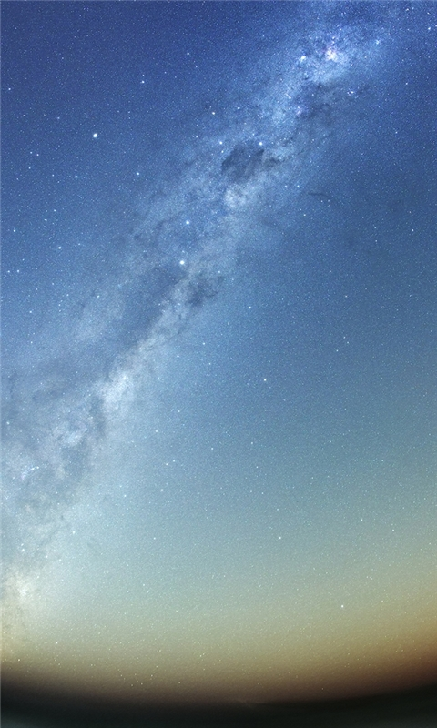 Milky Way Galaxy Windows Phone Wallpaper