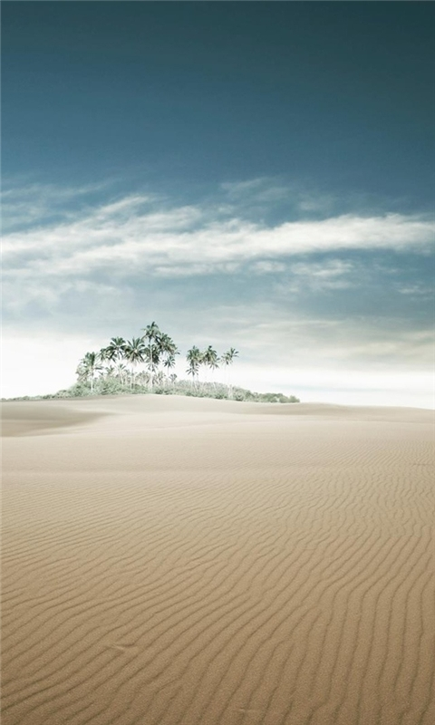 Desert Dunes Windows Phone Wallpaper