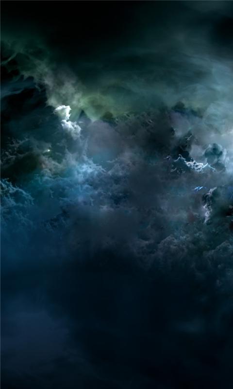 Darkness Storm Windows Phone Wallpaper