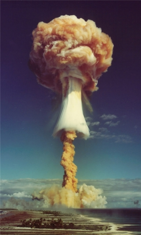 Atomic Bomb Windows Phone Wallpaper