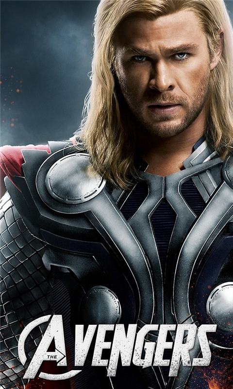 Avengers Thor Windows Phone Wallpaper