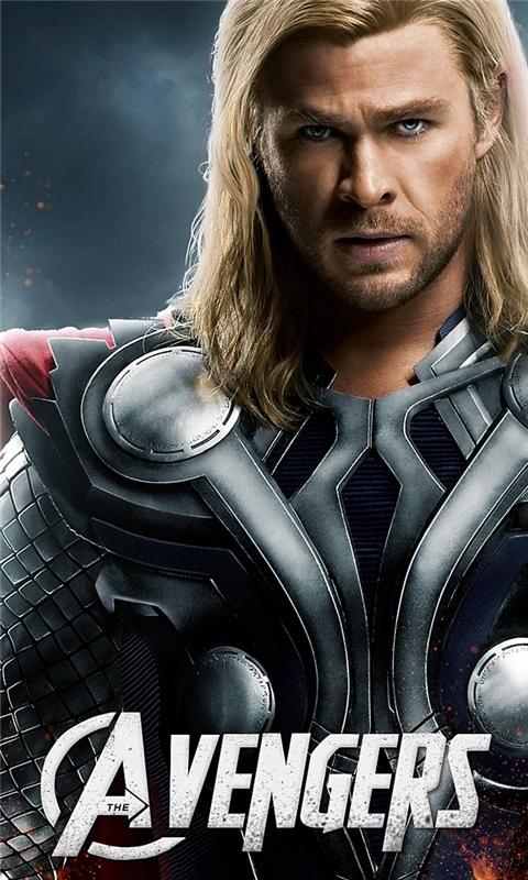 Avengers Thor Windows Phone Wallpaper Freewpwallpapers