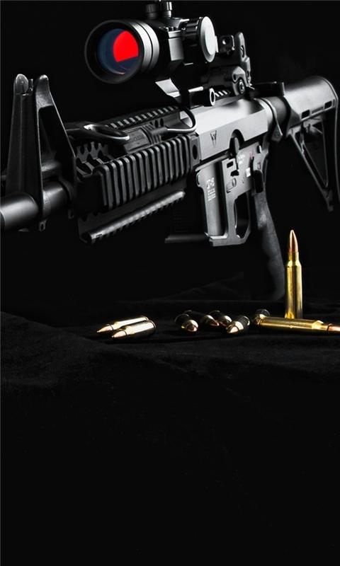 Gun AR15 Windows Phone Wallpaper