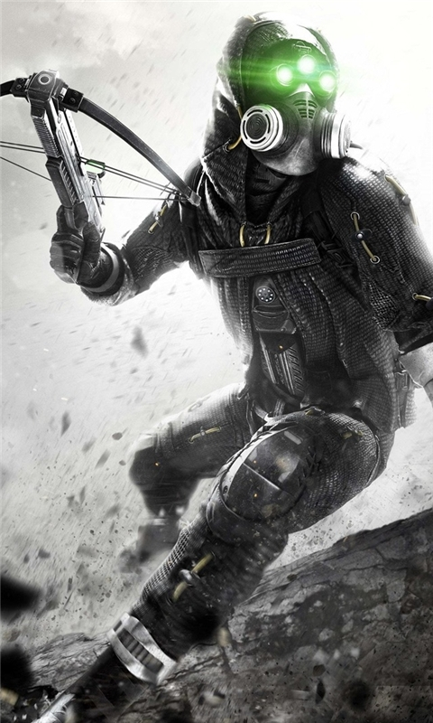 Splinter Cell Blacklist Spy Windows Phone Wallpaper