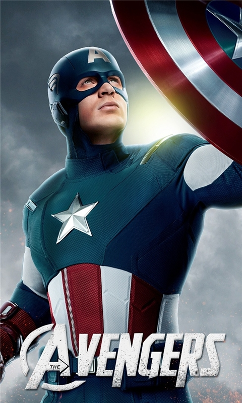 Avengers Captian America Windows Phone Wallpaper