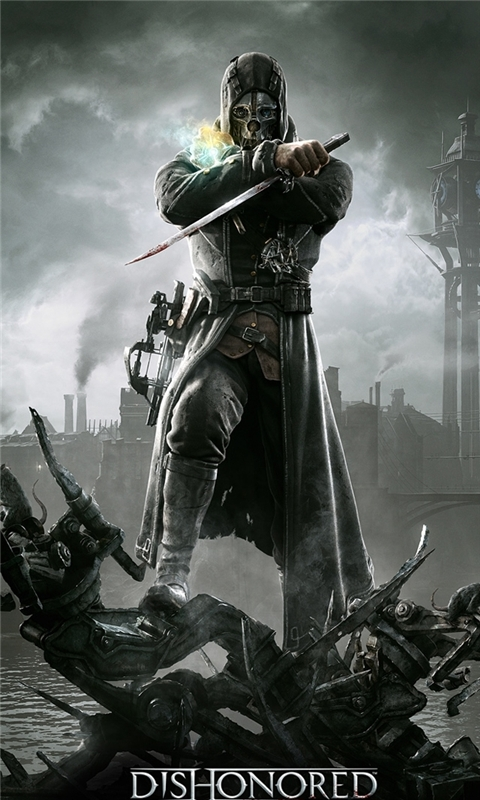 Dishonored 2012 HD Windows Phone Wallpaper