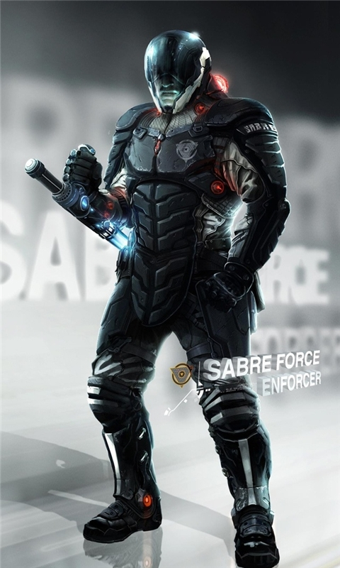 Sabre Force Enforcer Remember Me Windows Phone Wallpaper