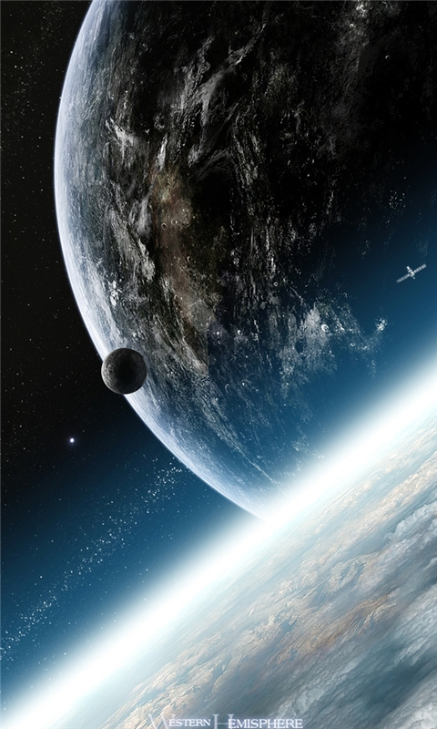 Planets Earth Windows Phone Wallpaper