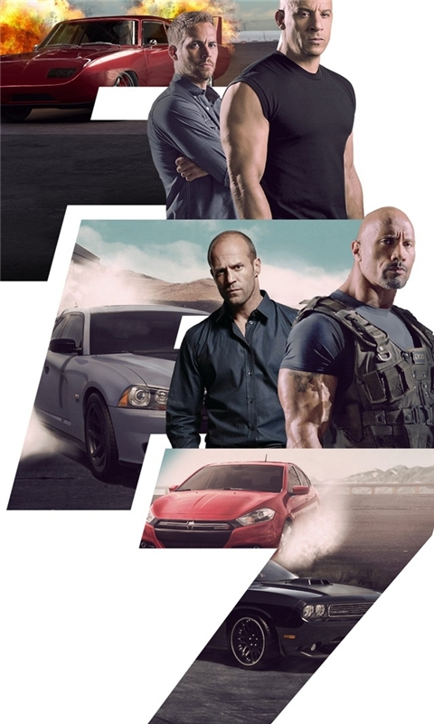 Fast Furious 7 Windows Phone Wallpaper