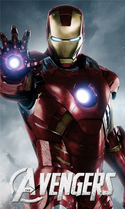 Avengers Iron Man Windows Phone Wallpaper