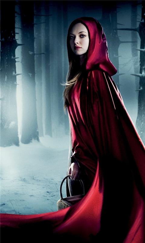Amanda Seyfried Red Riding Hood Windows Phone Wallpaper