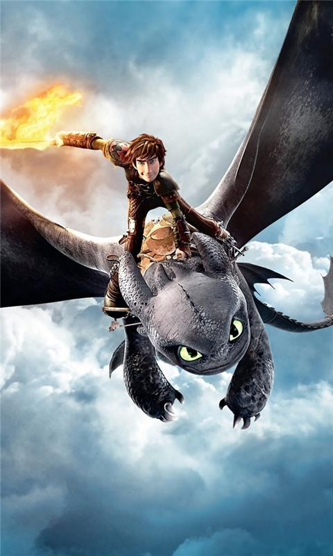 How to Train Your Dragon 2 Windows Phone Wallpaper