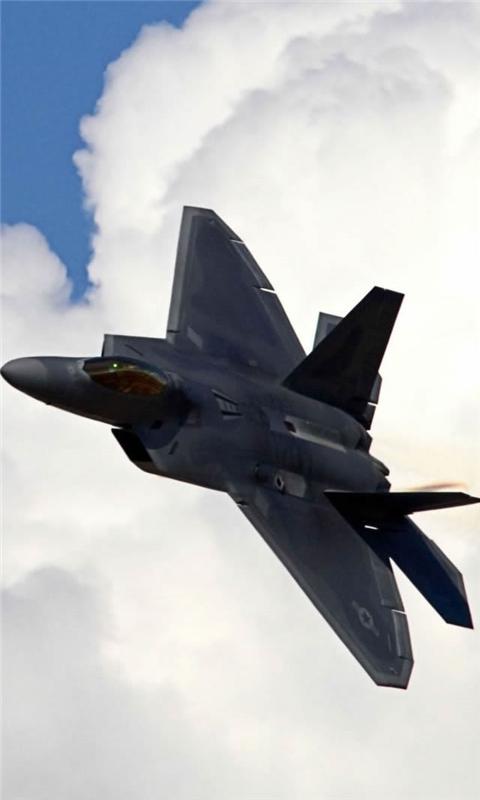 Lockheed Martin F 22 Raptor Windows Phone Wallpaper
