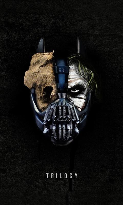 The Dark Knight Trilogy Windows Phone Wallpaper