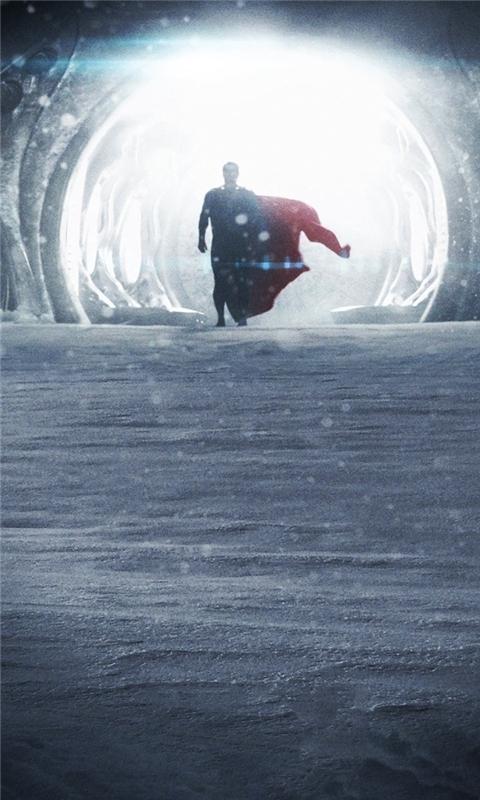 Man of Steel Superman Windows Phone Wallpaper