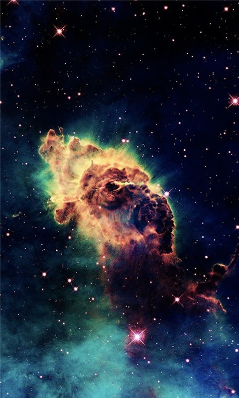 Pillars Of Creation Eagle Windows Phone Wallpaper
