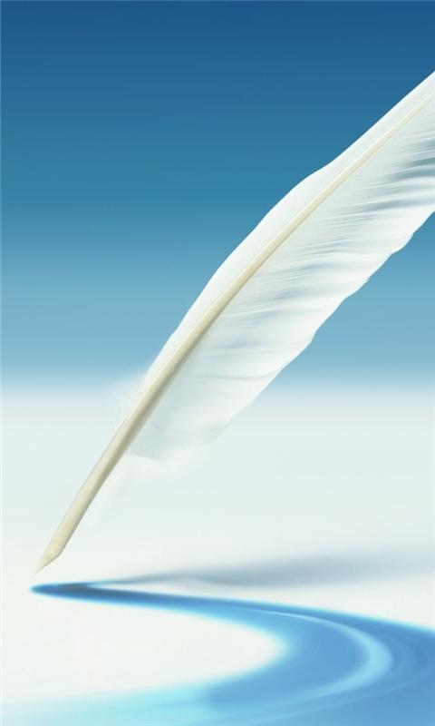 Samsung Galaxy Note Feather Windows Phone Wallpaper