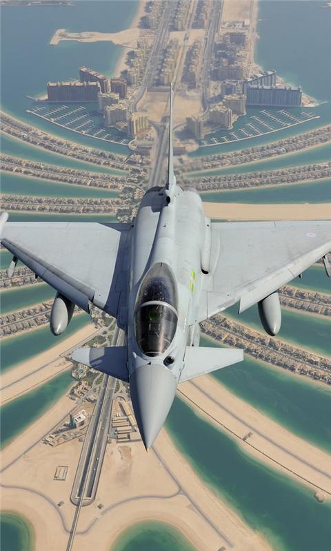 Eurofighter Typhoon Windows Phone Wallpaper