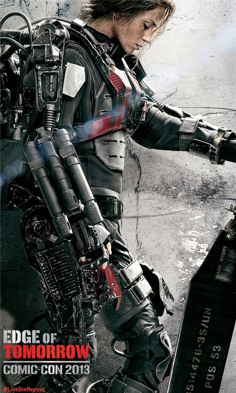 Emily Blunt Edge of Tomorrow Windows Phone Wallpaper