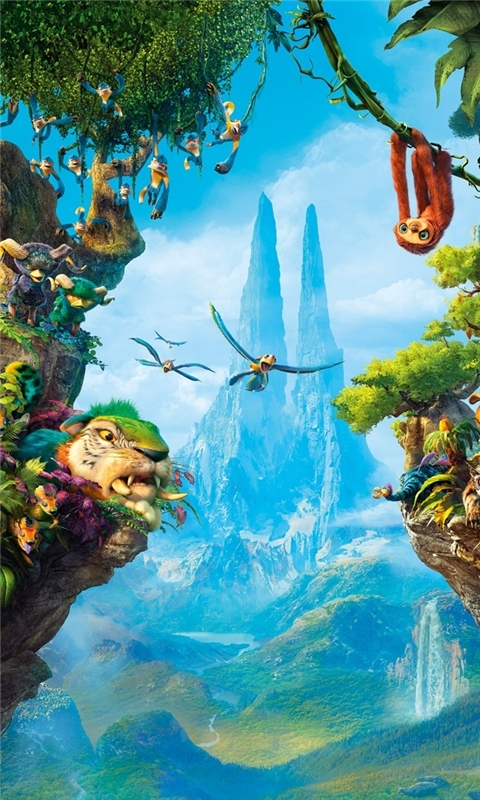 Croods Jungle Windows Phone Wallpaper