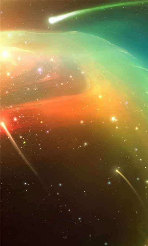 Planets Comets Windows Phone Wallpaper