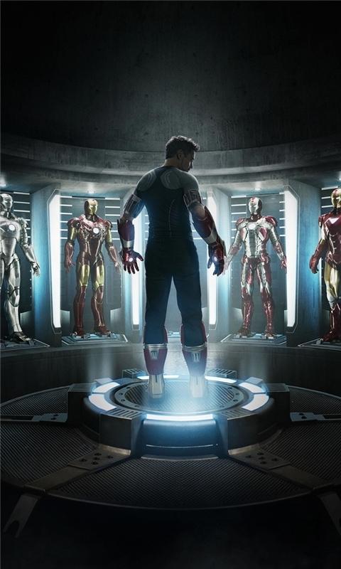 Iron Man 3 Official Windows Phone Wallpaper