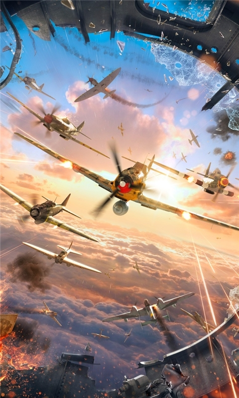 World of Warplanes Game Windows Phone Wallpaper