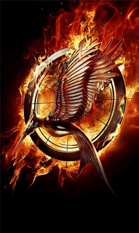 The Hunger Games Catching Fire Windows Phone Wallpaper