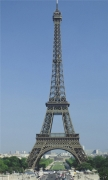 Eiffel Tower in the Summer