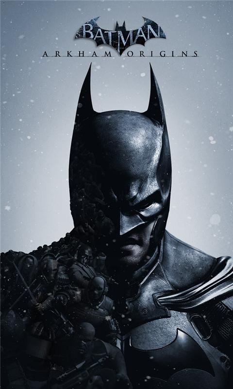 Batman Arkham Origins Windows Phone Wallpaper
