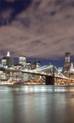 View from Brooklyn to Manhattan