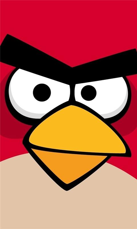 Angry Bird Windows Phone Wallpaper