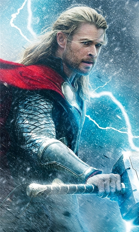 Thor The Dark World Windows Phone Wallpaper