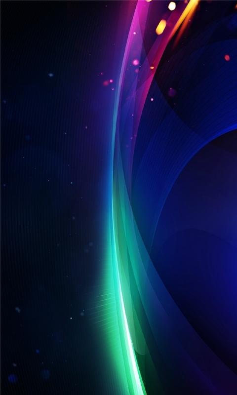 Shine Wave Windows Phone Wallpaper
