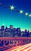 View to Manhattan from Brooklyn Bridge