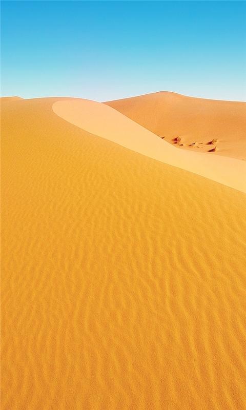 African Desert Windows Phone Wallpaper