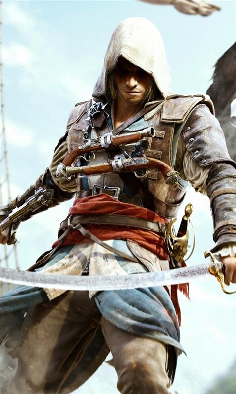 Assassin's Creed 4 Black Flag Windows Phone Wallpaper
