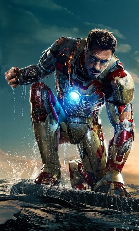 Iron Man 3 Tony Stark Windows Phone Wallpaper